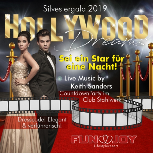 Hollywood Dreams! Silvestergala